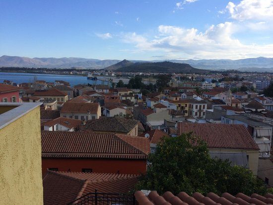 Pension Marianna: View from the breakfast balcony