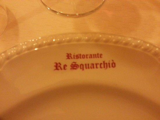Re Squarchio: Il piatto con il nome del ristorante!
