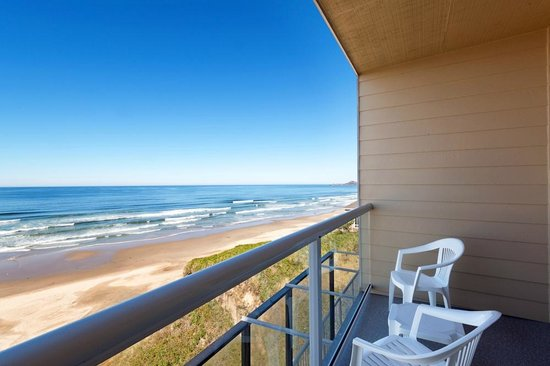 Elizabeth Oceanfront Suites: View from all of our guest room balconies.  Come unwind with us!