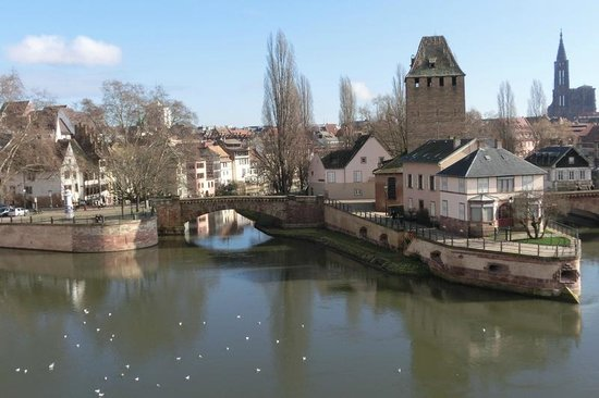 Strasbourg Pont Couverts : Teilansicht