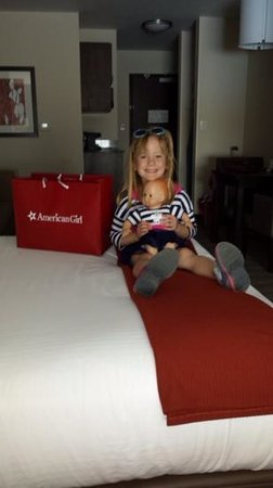 Holiday Inn Express Hotel & Suites Columbus - Easton: Mackenzie, baby Lucy and their American Girl package