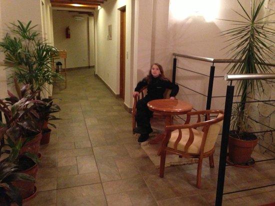 La Escampada: Interior muy acogedor