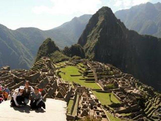 Machu Picchu: As crianças amaram o lugar