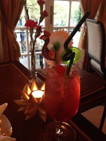 Thai Balcony: Singapore Sling. As good as any I've tasted.