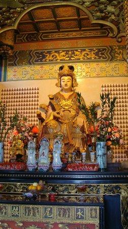 Thean Hou Temple : Внутри храма