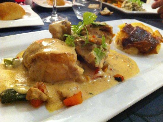 Melodynice: La gigolette de volaille et ses légumes