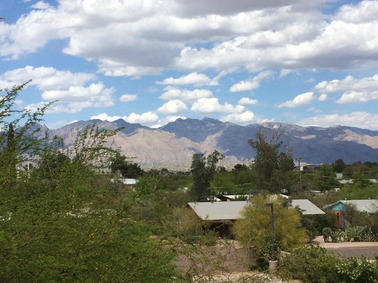 Lodge on the Desert: view from our room