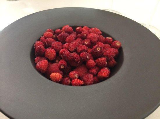 Apicius: L'assiette de fruits rouges (très copieuse)