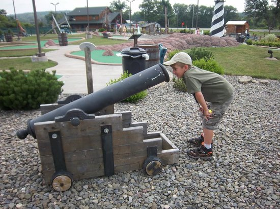 Shipwreck Golf Amusement Center: Not recommended viewpoint