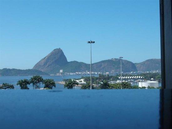 Aeroporto Othon: foto da vista olhando da janela do hotel