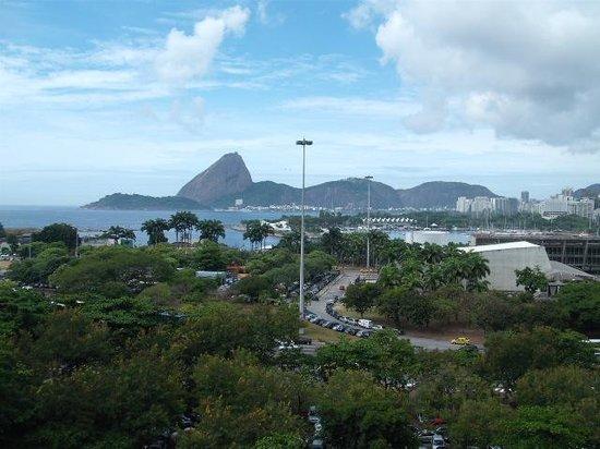 Aeroporto Othon: fotos da vista da janela do hotel