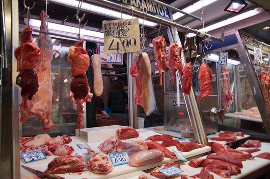 Athens Walks Tour Company : Athen's Meat Market