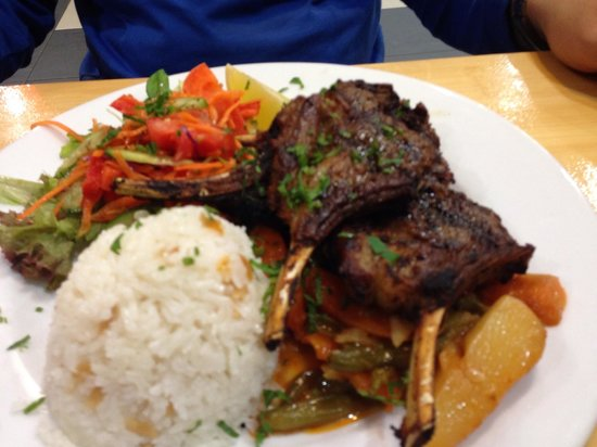 Turkish Halal Pide House: Lamb cutlets