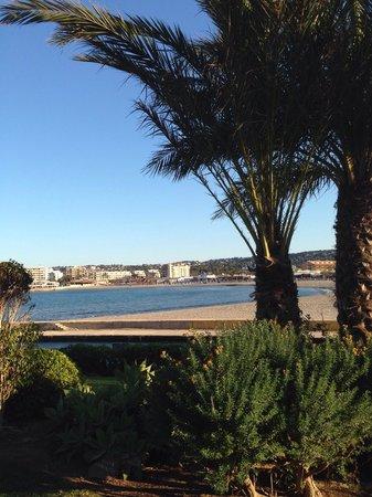 Parador de Javea : Der Blick auf die platja del arenal vom Zimmer aus