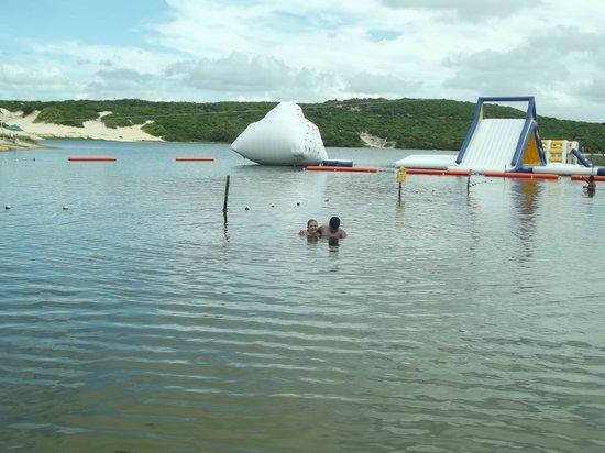Lagoa de Pitangui : Lagoa do Pitangui e parque aquatico