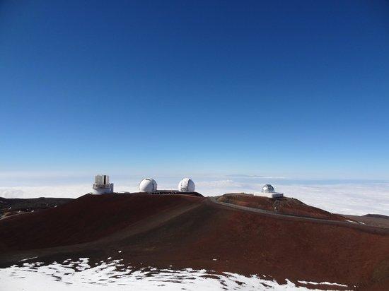Mauna Kea Summit: 14,000 feet high