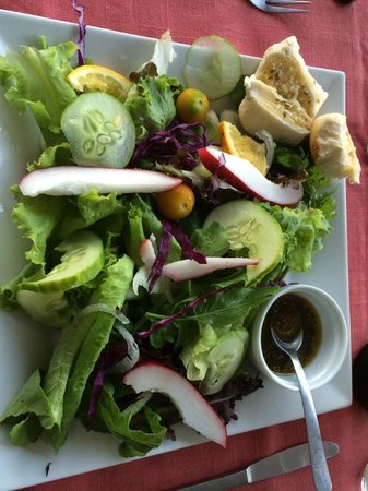 Tamarind Great House: the best salad