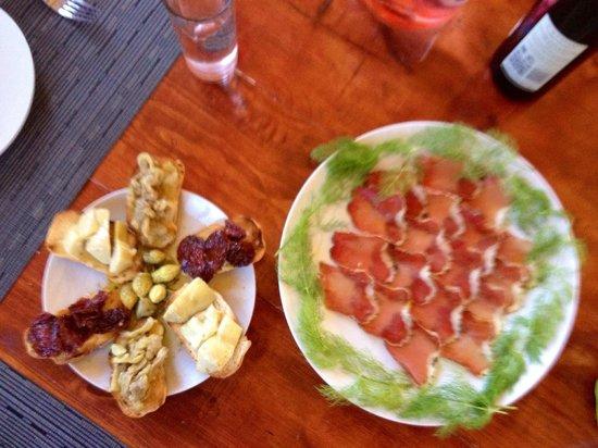 Refugio Romano: Excelente comida