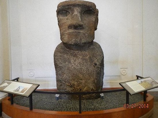 National Museum of Natural History : ancient carving