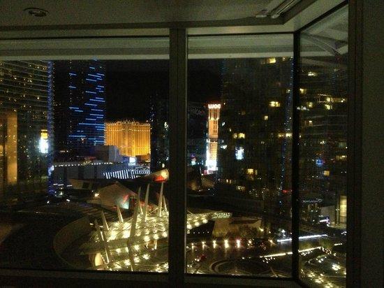 ARIA Resort & Casino: 7th floor corner