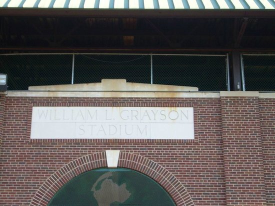 Grayson Stadium : Front of Stadium