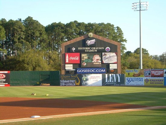 Grayson Stadium: Scoreboard