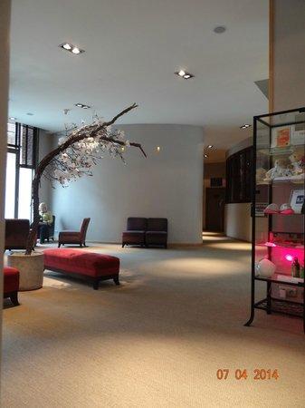 Martin's Brugge: lobby