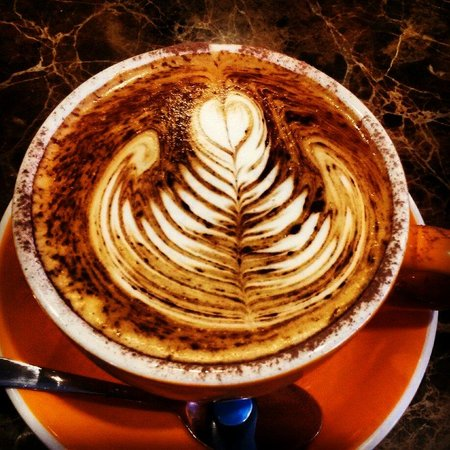 Scandic Cafe: Cappuccino served with care, this time and everytime :)
