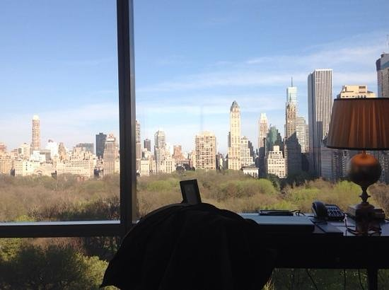 Trump International Hotel and Tower New York : vista dall'appartamento