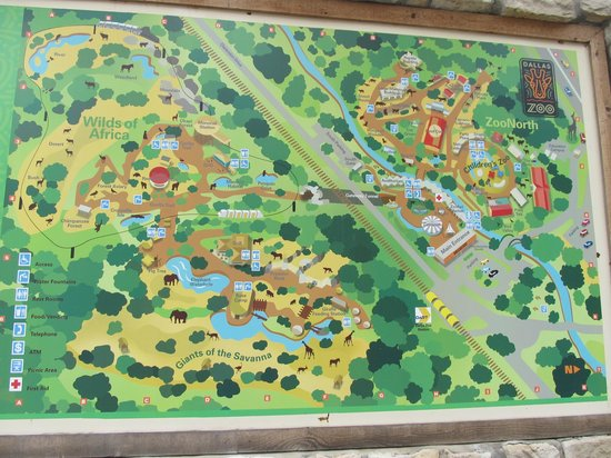 map of the property picture of dallas zoo dallas tripadvisor