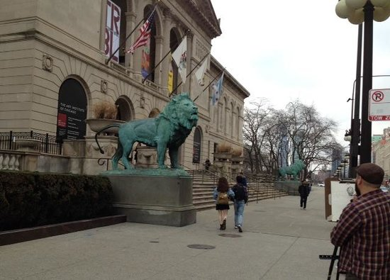 Lose Yourself Inside The Handsome Art Institute Of Chicago Picture Of The A