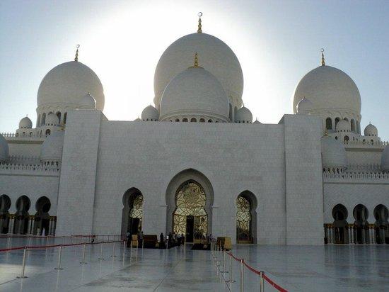 Mosquée Cheikh Zayed : Вход