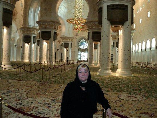 Mosquée Cheikh Zayed : В Мечете