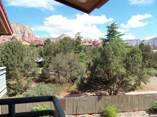 Sedona Rouge Hotel and Spa: View from our room