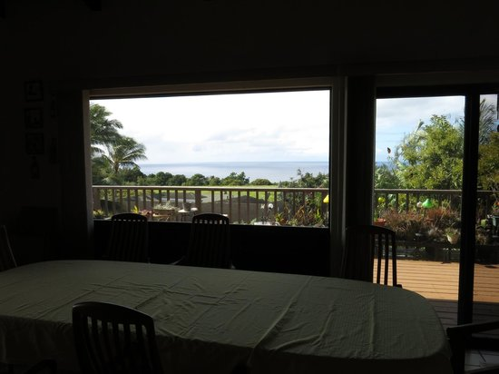 Hale Ikena Nui: View from kitchen table