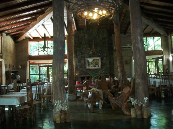 La Aldea de la Selva Lodge : Comedor Restaurante