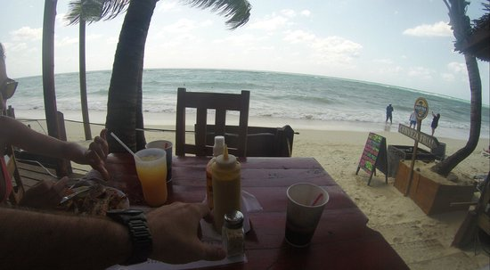 Thirsty Turtle Bar and Grill: The amazing View