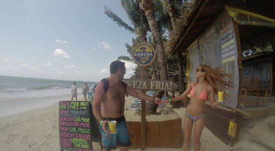 """Thirsty Turtle Bar and Grill: And us by the """"front door"""""""