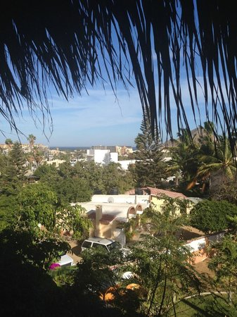 The Bungalows Hotel: View from the room