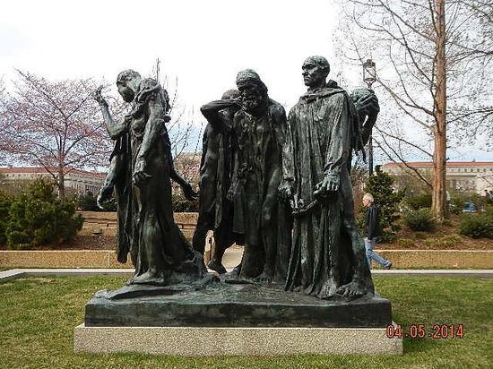 Hirshhorn Museum and Sculpture Garden : The Burghers of Calais