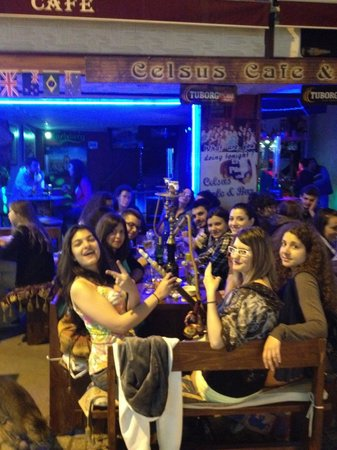 Celsus Cafe Bar : thanks every one