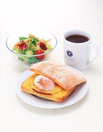 Hotel Mets Musashisakai : 朝食例 エクセルシオールカフェ
