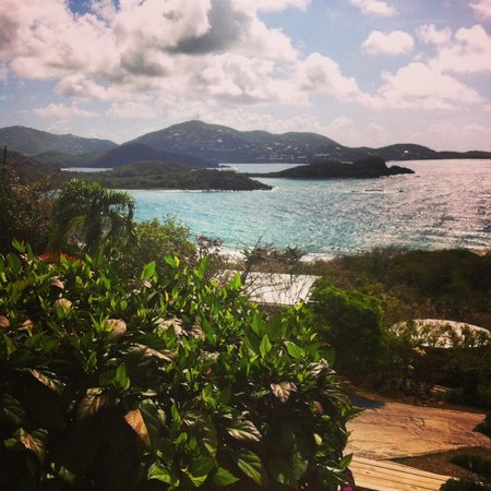 Virgin Islands Campground: View from the suite
