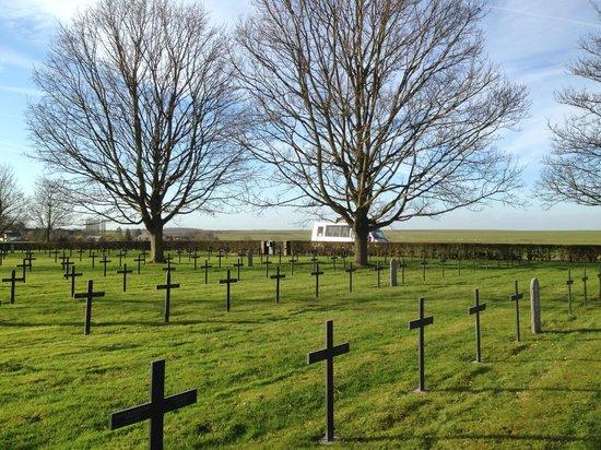 Terres de Memoire Somme Battlefield Tours: German Cemetery
