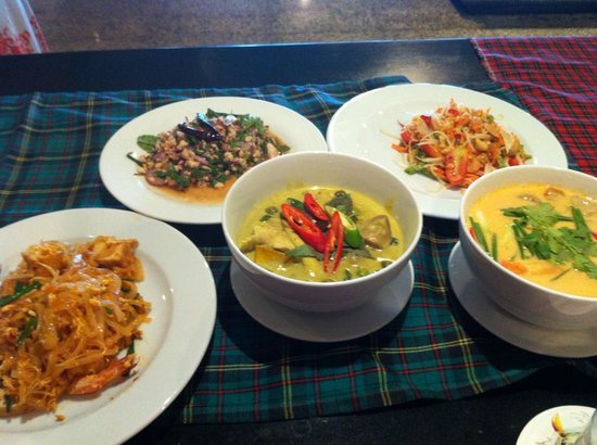 Pullman Phuket Panwa Beach Resort: Outcome of the thai cooking class at Radisson Blue