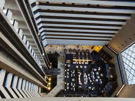Hyatt Regency New Orleans Map.Hotel Interior From Room Picture Of Hyatt Regency New Orleans New