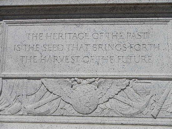 The National Archives Museum: The Heritage of the past is the seed that brings forth the harvest of the future