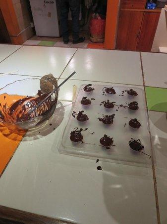 ChocoMuseo: Dark chocolate truffle