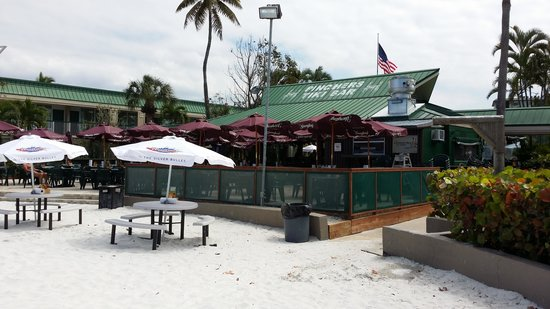 Wyndham Garden Fort Myers Beach Tiki Bar From The