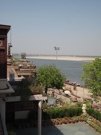 Hotel Ganges View: View from terrace!